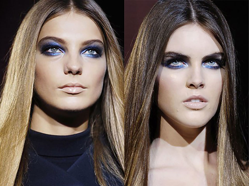 smoky-midnight-blue-eye-makeup-at-versace-fall-2006-fashion-show