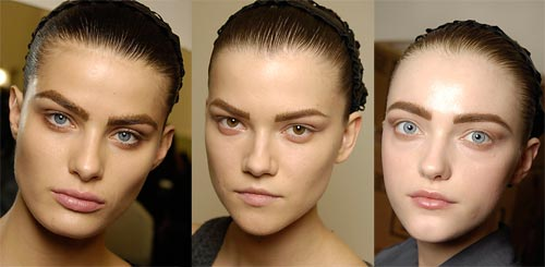 Prada Fall 2008 ruwway beauty