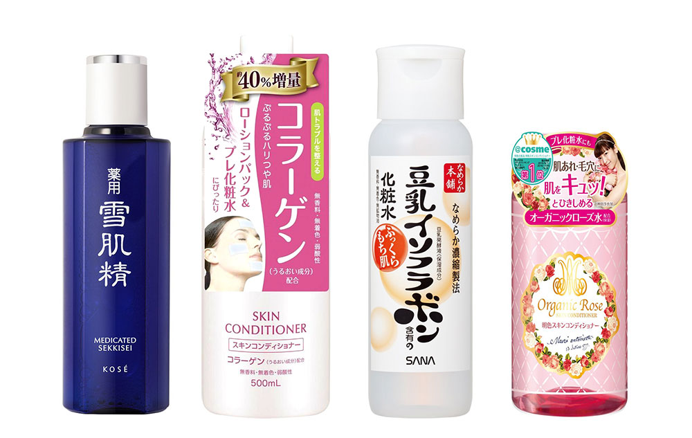 Japanese lotions