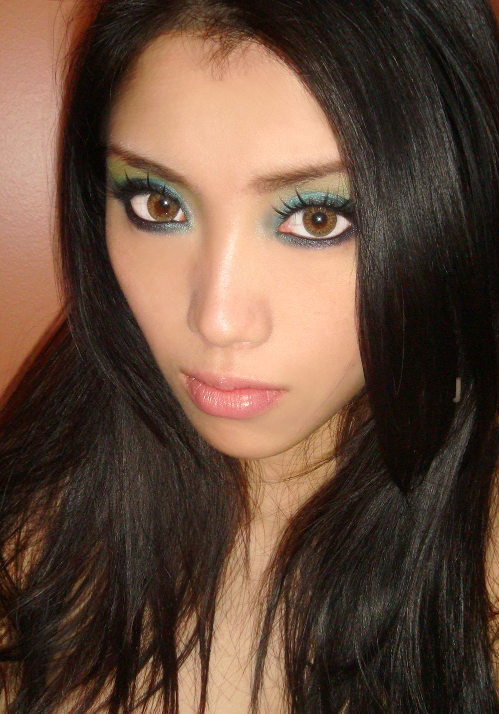 smoky-turquoise-green-eye-makeup-tutorial