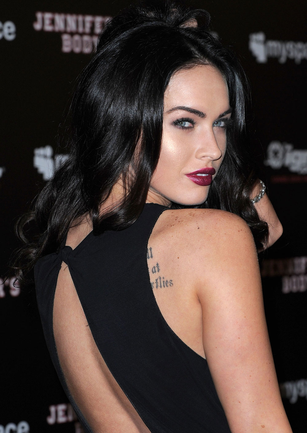 megan fox at myspace ign jennifers body party