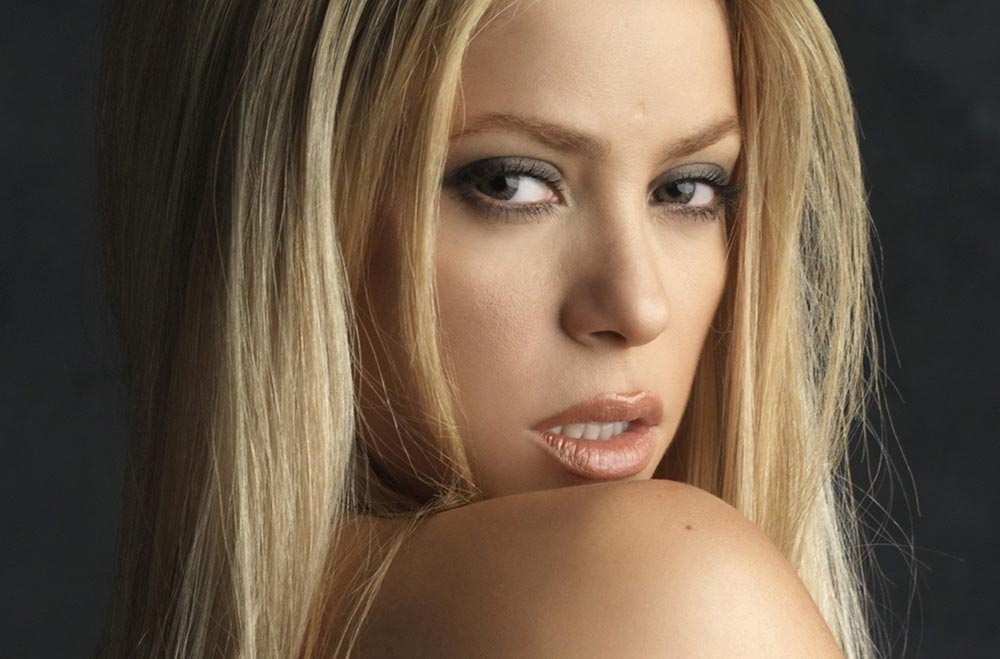 Celebrity Makeup Breakdown Shakira In She Wolf Music Video Makeup