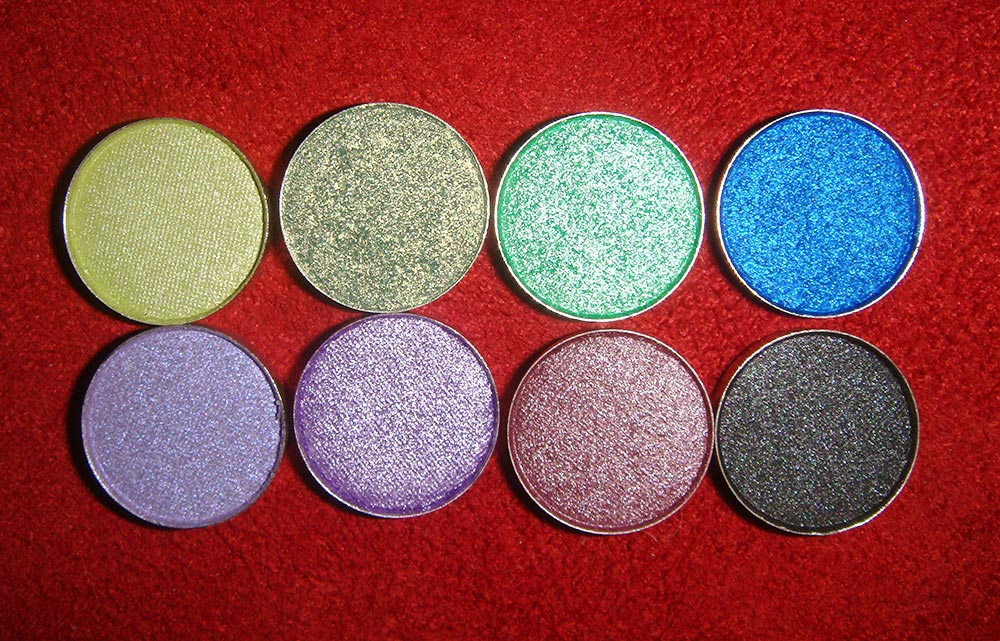 Yaby Pearl Paint Eyeshadows