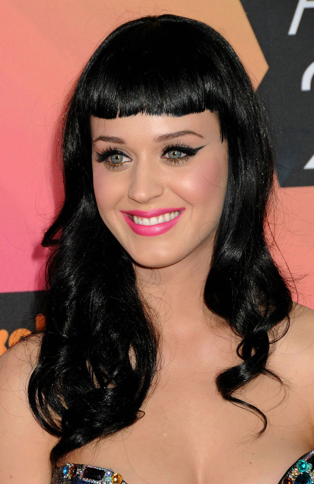 Katy Perry makeup 2010 Kids Choice Awards