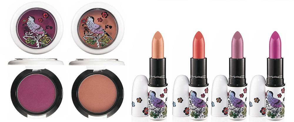 MAC Give Me Liberty of London Collection Blush and Lipsticks