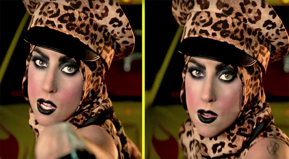 Lady Gaga Telephone Makeup
