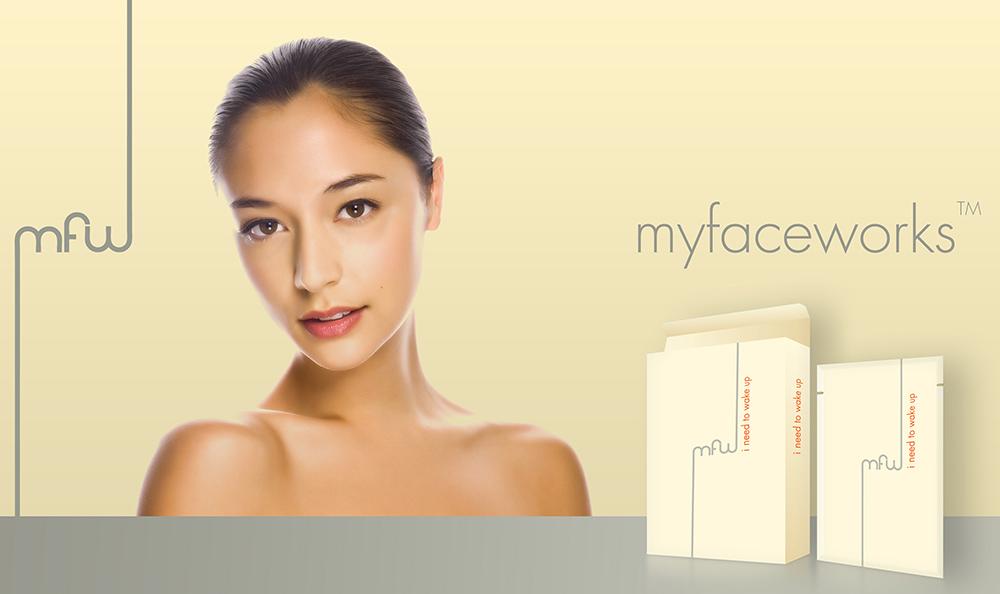 myfaceworks paper facial mask