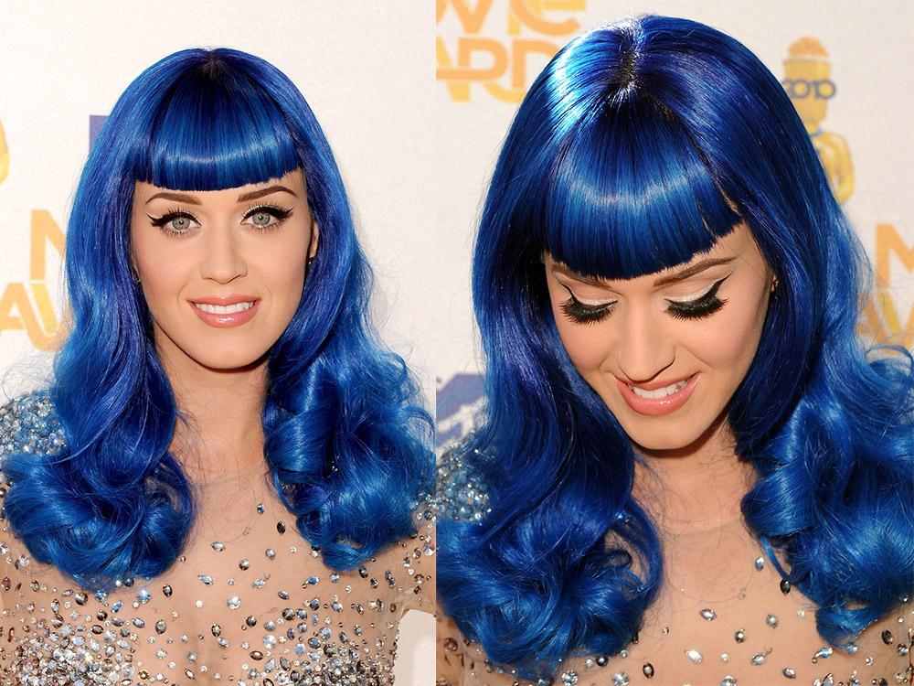 Katy Perry makeup at 2010 MTV Movie Awards