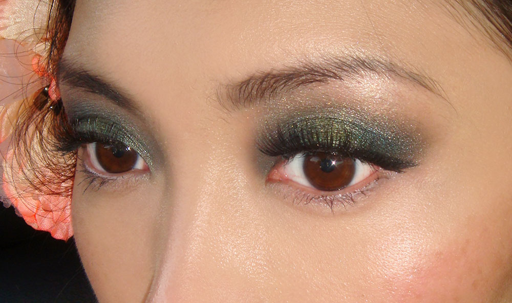 NARS Rajasthan and Palladium Teal Smoky Eye FOTD and Makeup Tutorial