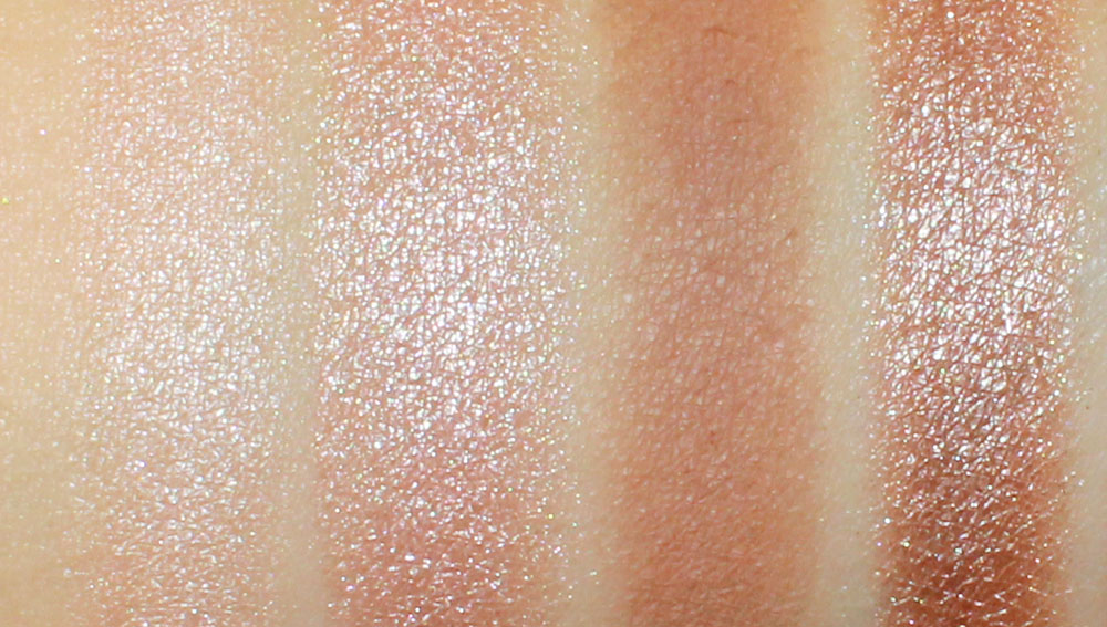 Urban Decay Naked Palette Virgin, Sin, Baked and Sidecar Eyeshadow Swatches
