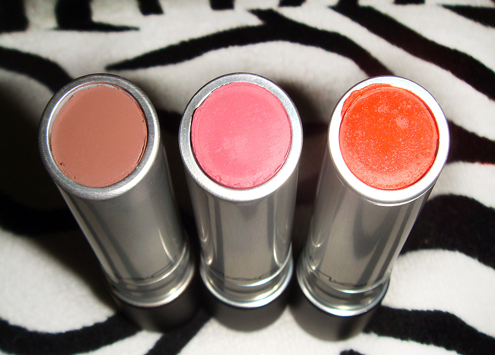 MAC Pro LongWear Lipcremes in Till Tomorrow, Unlimited and Good To Go
