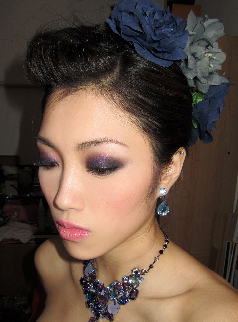 Asian bridal makeup