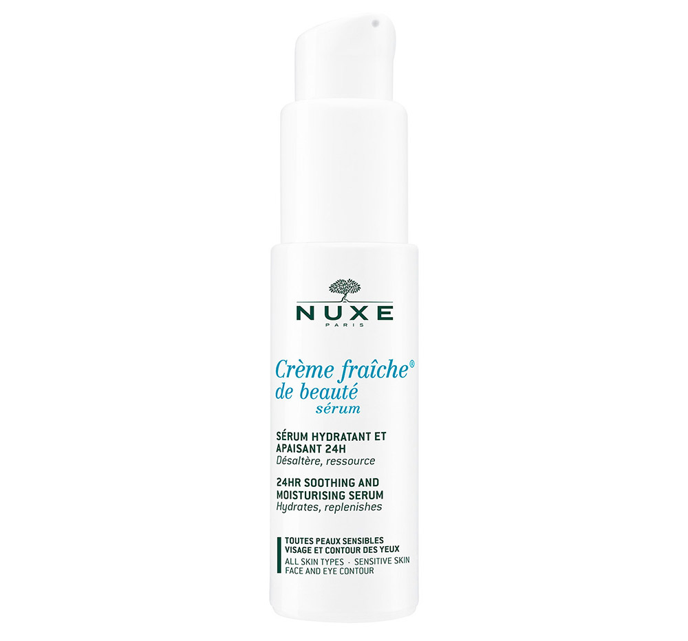nuxe s rum cr me fra che de beaut 24 hr moisturizing anti fatigue concentrate review makeup. Black Bedroom Furniture Sets. Home Design Ideas