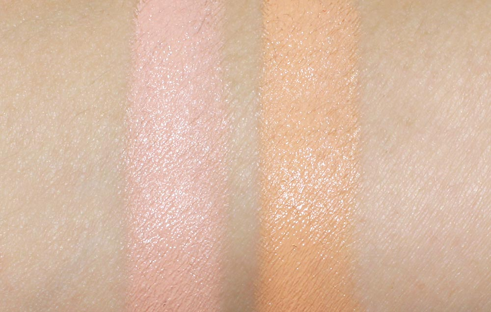 Bobbi Brown Corrector in Light to Medium Bisque and Peach Swatches