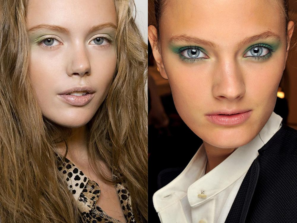 Bright eyeshadow makeup trend