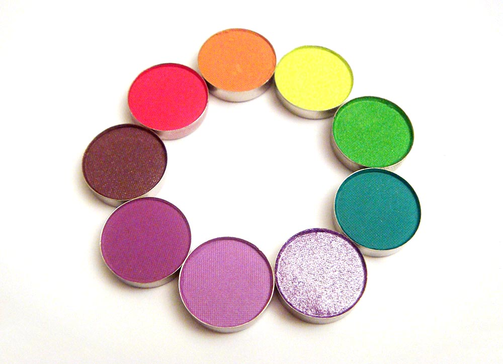 Yaby Cosmetics Matte Satin High Shine Eyeshadows
