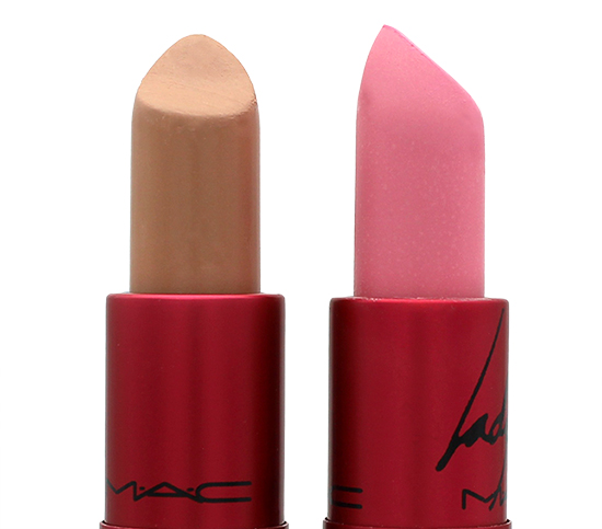 MAC Viva Glam Gaga and Gaga 2 Lipsticks