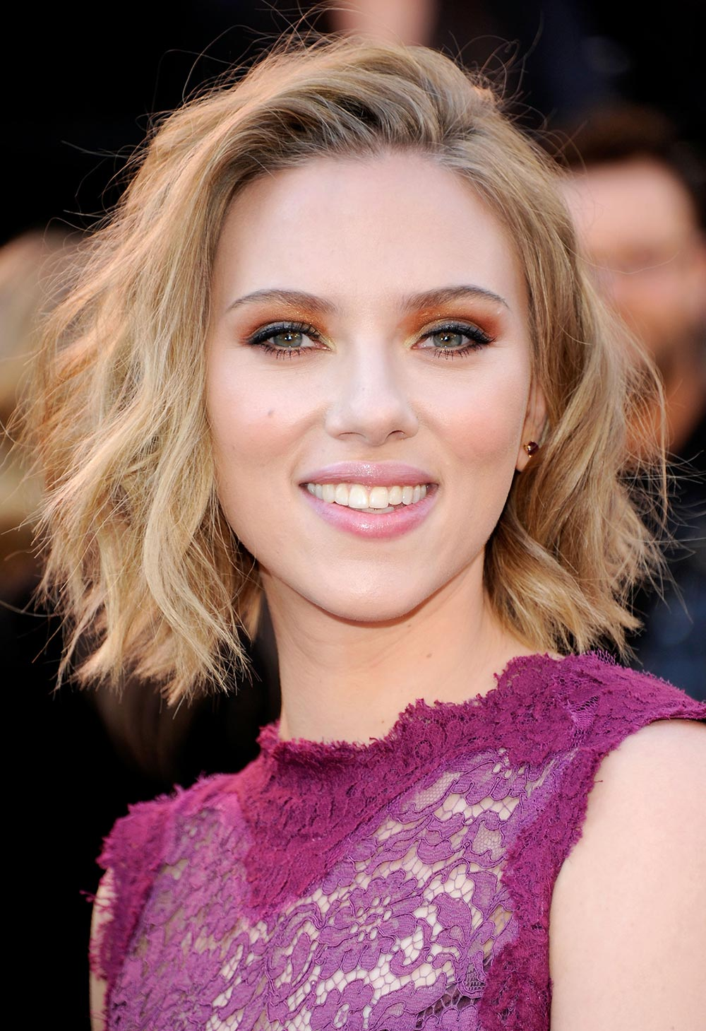 Scarlett Johansson hair 83rd Annual Academy Awards