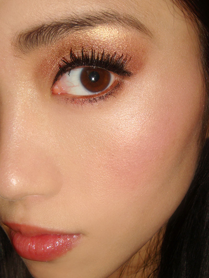 Wearing NARS New Order Highlighting Powder Blush