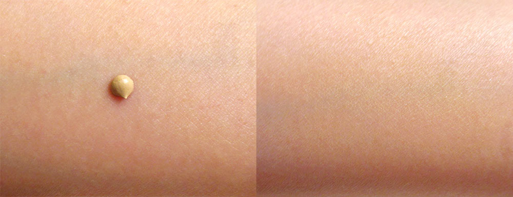 Boscia BB Cream SPF 27 PA++ swatch