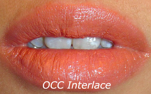 OCC Interlace Lip Tar Swatch