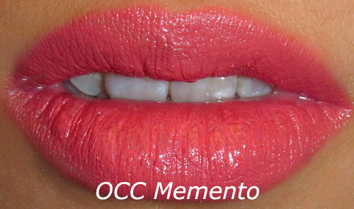 OCC Memento Anime Lip Tar Swatch