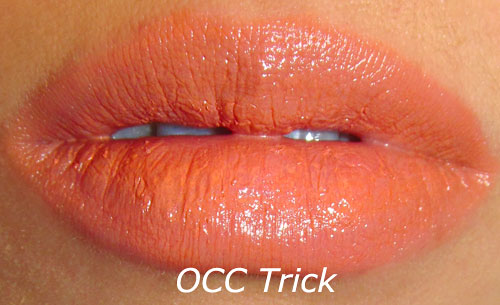 OCC Trick Lip Tar Swatch
