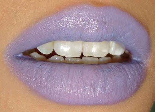 Wearing OCC Lip Tar NSFW mixed with RX and Feathered