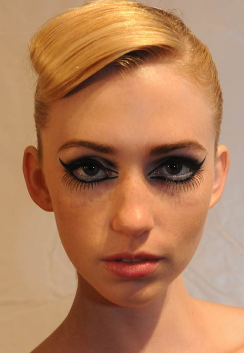 GUiSHEM Spring/Summer 2012 runway beauty