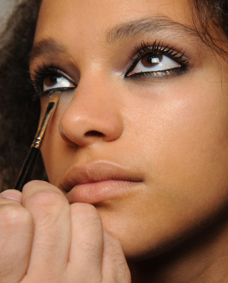 Makeup at Holly Fulton Spring 2012 by MAC