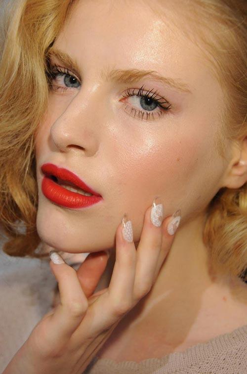 Runway Beauty: Joy Cioci S/S 2012 Makeup and Nails – Makeup For Life