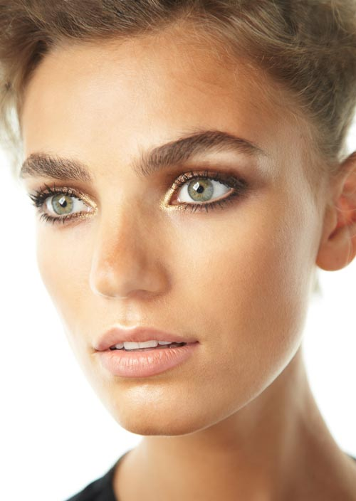 Makeup at L'Wren Scott NYFW Spring 2012