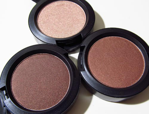 MAC Sweet Satisfaction, Make Your Mark and Lie Low Pro Longwear Eyeshadows