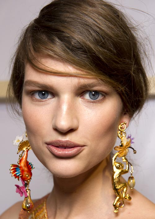 Missoni Spring 2012 runway beauty