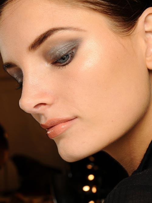 Naeem Kahn Spring 2012 runway makeup