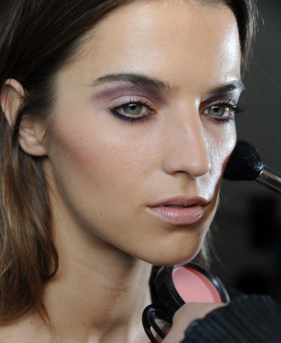 Peter Som Spring 2012 Makeup by MAC