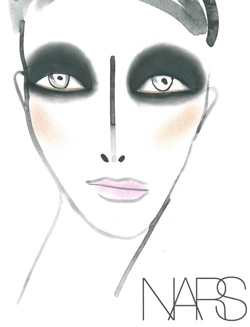 Rodarte Spring 2012 NARS Makeup Facechart