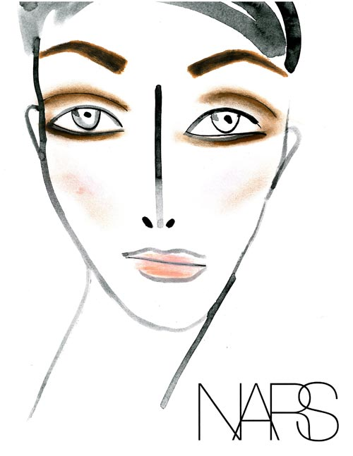 Thakoon Spring 2012 Makeup Facechart
