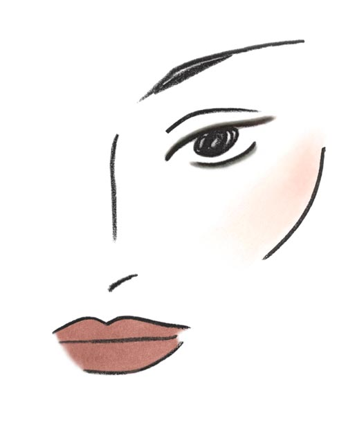 The Row Spring 2012 Makeup Facechart
