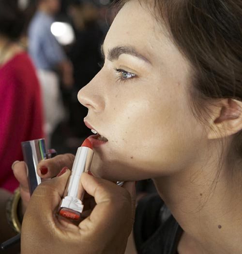 Vivienne Tam S/S 2012 Backstage Beauty