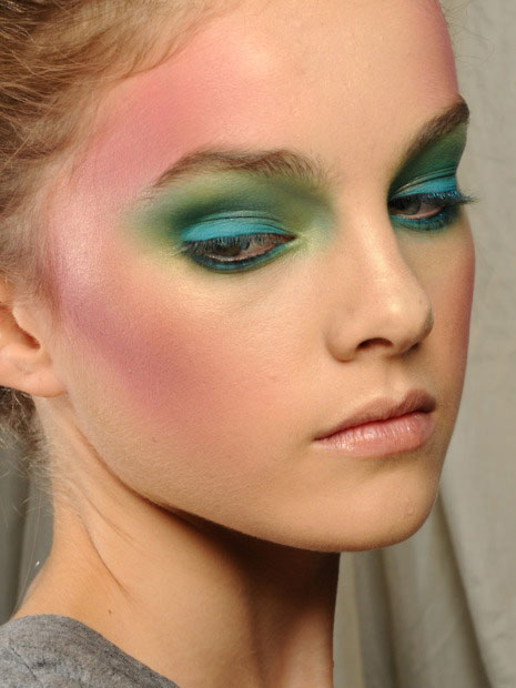 Vivienne Westwood Red Label Spring 2012 Makeup