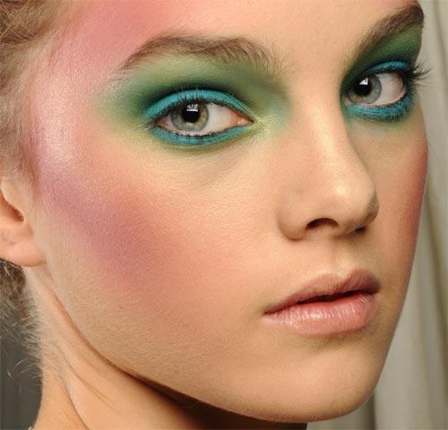 Vivienne Westwood Red Label Spring 2012 Makeup by MAC