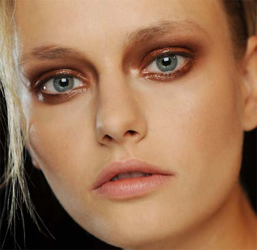 Makeup at Haider Ackermann Spring/Summer 2012