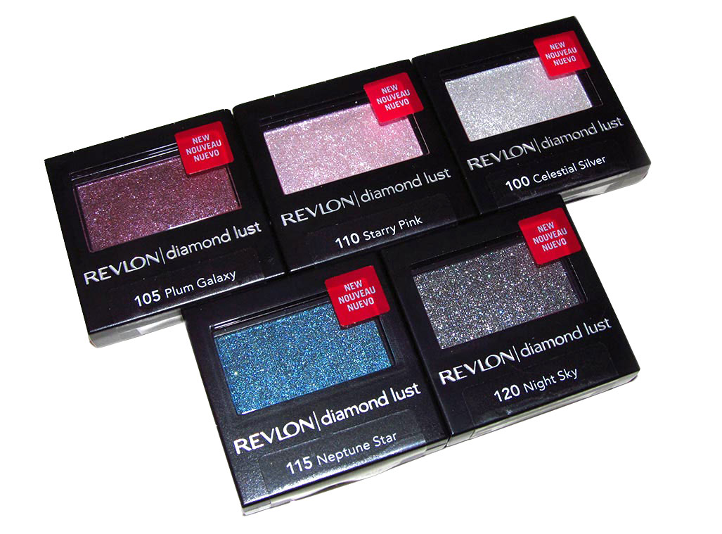 Revlon Gucci Westman Luxurious Color Diamond Lust Eyeshadows