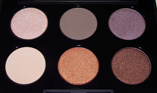 Smashbox Softbox Fizz, Pebble, Minx, Vanilla, Ignite and Sienna Eyeshadows