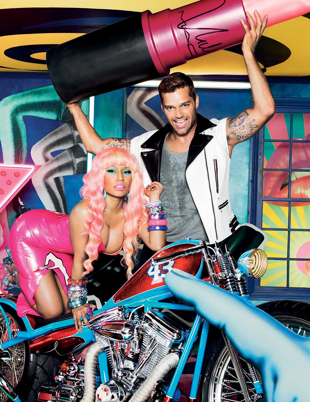 MAC Viva Glam 2012 Ricky Martin and Nicki Minaj