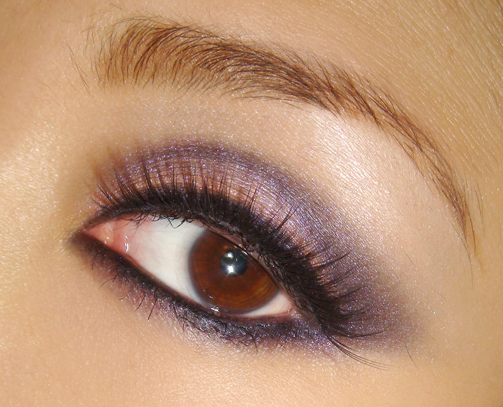 Makeup Tutorial Purple Smoky Eye Look