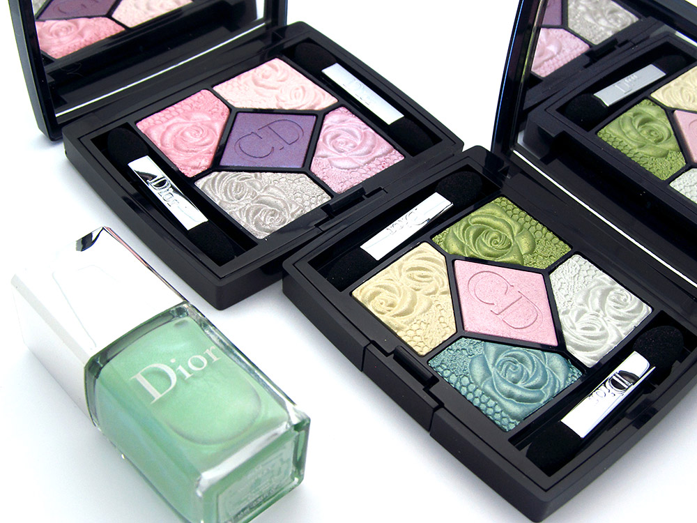 Dior Garden Party Spring 2012 collection eyeshadows and nail