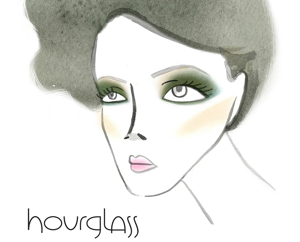 Gina Brook ethereal beauty holiday 2011 makeup look