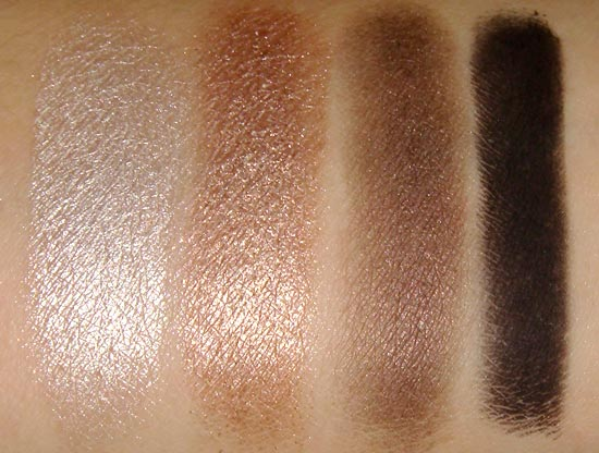 Urban Decay Naked 2 Verve YDK Busted and Blackout swatches
